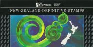 New Zealand Stamp Pack 1982 Definitive Stamps of New Zealand set of 11